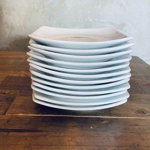 Set of 6 starter appetizer plates